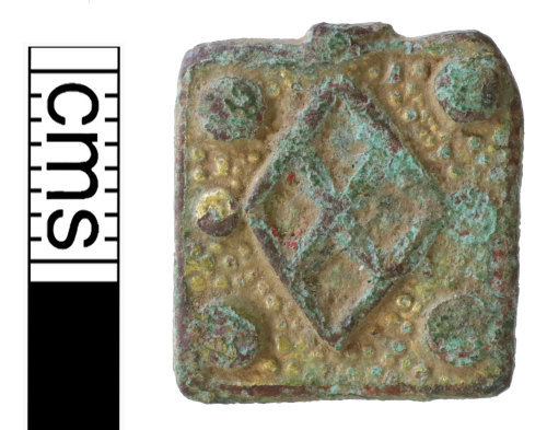 NMS-66C24C: Medieval horse harness pendant