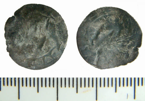 NMS-6AC9AC: Medieval long cross penny of Edward III