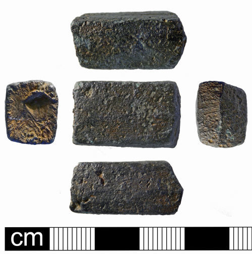 NMS-6EE5AB: Undated copper alloy ingot