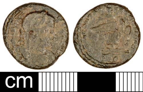 SOM-009057: Roman Coin: Nummus of Licinius