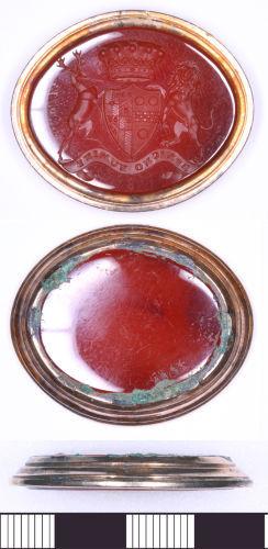 SOMDOR-1B27F7: Post Medieval Seal Matrix