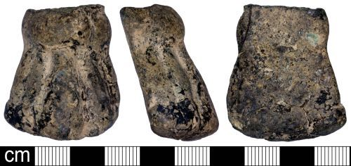 SOMDOR-1DA597: Medieval or Post Medieval Cooking Vessel