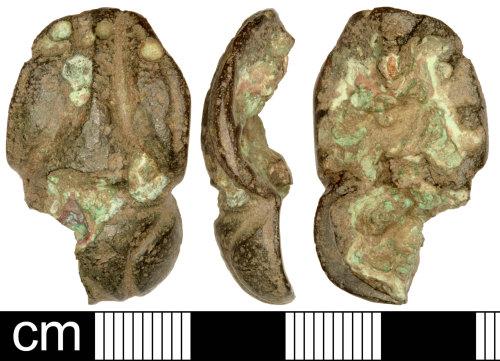 SOM-305556: Iron Age Escutcheon Vessel
