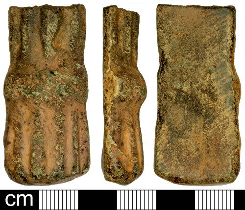 SOM-30CF62: Medieval or Post Medieval Cooking Vessel