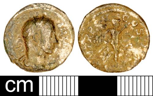 A resized image of Roman Coin: Denarius of Severus Alexander