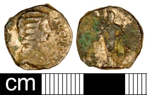 SOM-572A84: Roman Coin: Denarius of Julia Domna