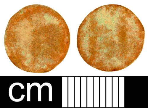 SOM-61C5F4: Roman Coin: Nummus of Magnus Maximus or Flavius Victor (Probably)