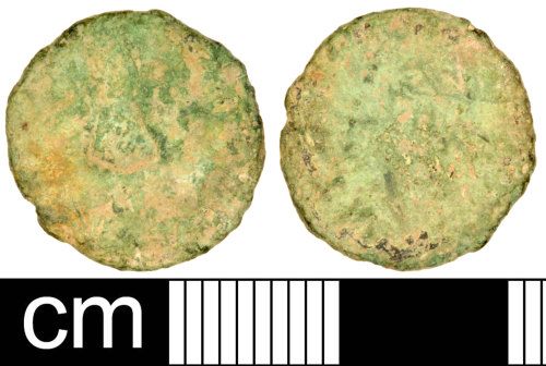 SOM-66B245: Roman Coin: Radiate of Claudius II