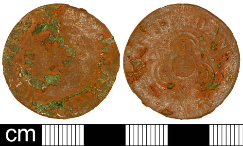 SOM-7CC457: Post Medieval Jetton