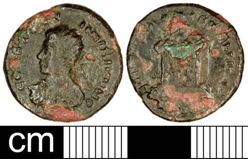 SOM-984611: Roman Coin: Nummus of Constantine II