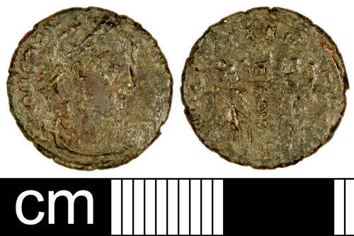 SOM-986041: Roman Coin: Nummus of Constantine I