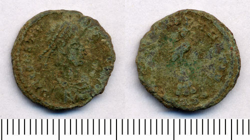 SOMDOR-C7C247: Roman Coin: Nummus of the House of Constantine