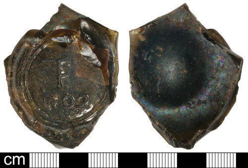 SOM-CE7052: Post Medieval Bottle Seal