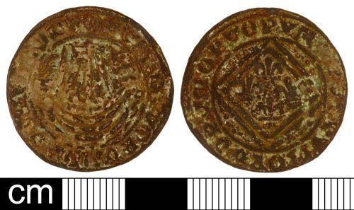 SOM-D16116: Post Medieval Jetton
