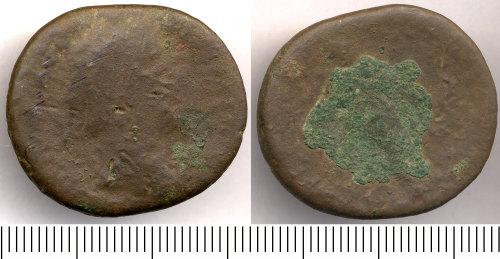 SOMDOR-D92A84: Roman Coin: Sestertius