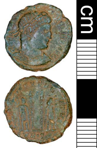 SOMDOR-DC5B73: Roman Coin: Nummus of Constantine I