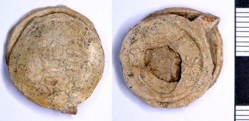 SOMDOR-ECC264: Medieval or Post Medieval Cloth Seal