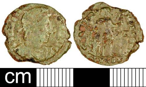 SOM-BC1953: Roman Coin: Nummus of Gratian
