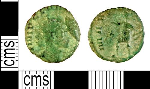 HAMP-91774F: Roman Coin : A radiate of Claudius II