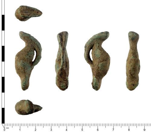 SWYOR-7A17E5: Roman spatula handle; Minerva