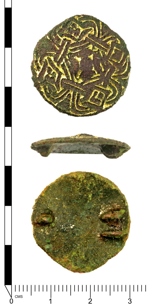 SWYOR-D58AE0: Early Medieval Anglo-Scandinavian disc brooch