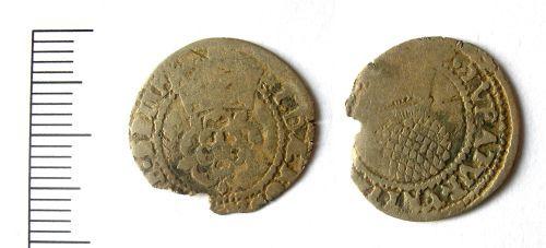 A resized image of James I halfgroat