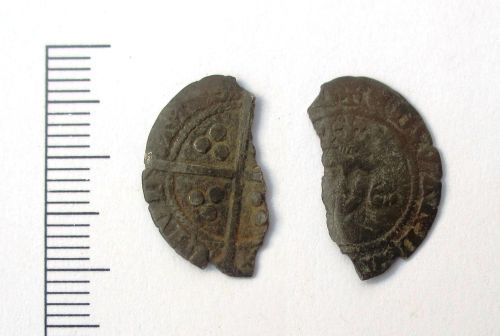 LEIC-DB08F4: Medieval Coin: Penny of Edward III
