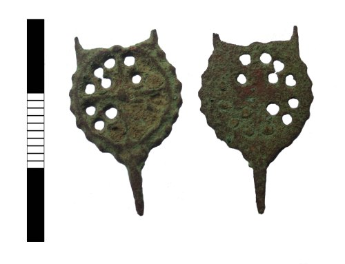 LEIC-E10486: Post medieval dress fastener
