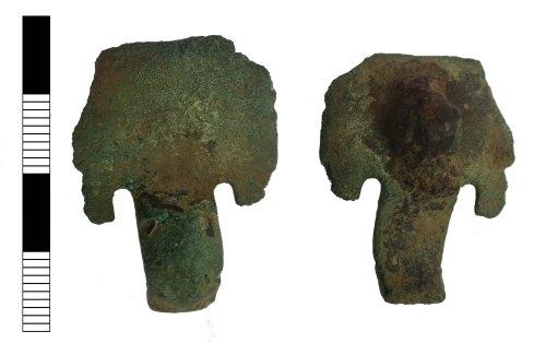 LEIC-F57680: Anglo-Saxon brooch