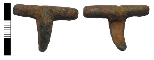 LEIC-4A2C39: Roman bow brooch