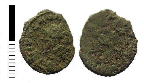 LEIC-2EC524: Roman coin: radiate of uncertain ruler