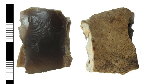 LEIC-83B04B: Neolithic or Bronze Age lithic implement