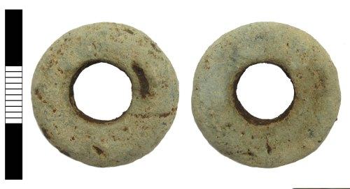LEIC-841AC4: Medieval spindle whorl