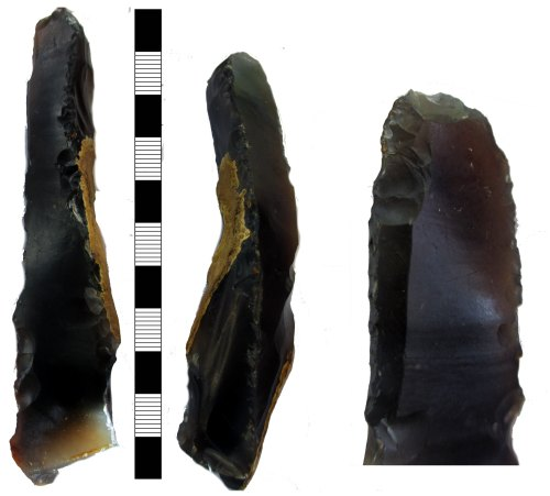 A resized image of Lithic implement: worked flint of Mesolithic to Neolithic date