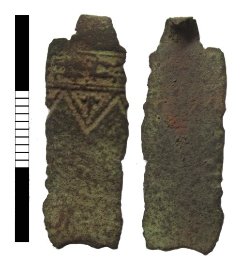 LEIC-153501: Post medieval book fitting