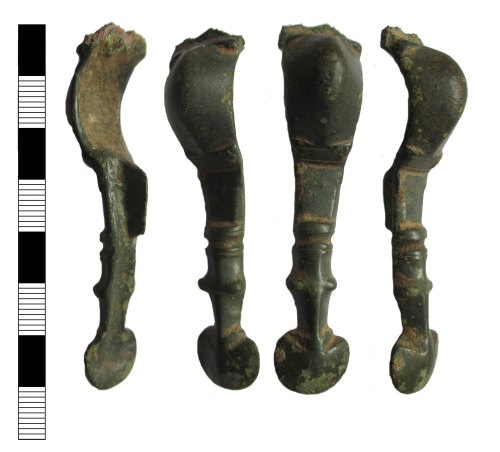 A resized image of Early medieval cruciform brooch