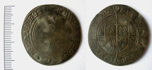 LEIC-1A5241: Edward VI shilling