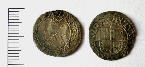 LEIC-445594: Elizabeth I halfgroat