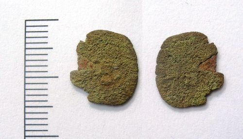 LEIC-CD2196: Post medieval copper alloy farthing