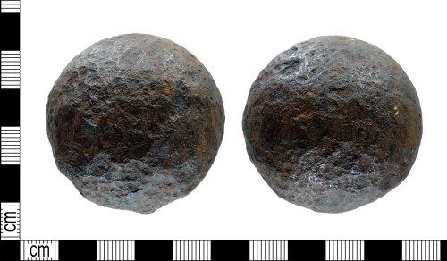 DENO-DDD04E: Post-Medieval Cannonabll