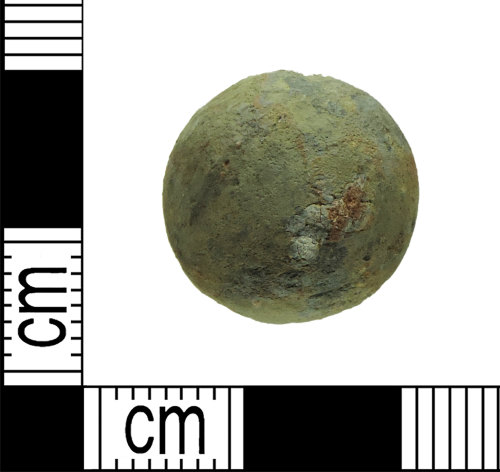 DENO-499B2C: Post-Medieval Musket Ball