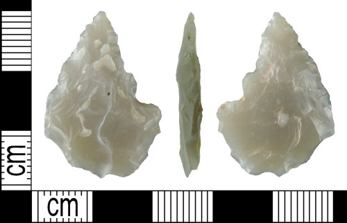 DENO-A7EBE1: Neolithic Leaf Shaped Arrowhead
