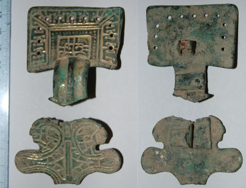CAM-216591: Early Medieval Great Square Headed brooch