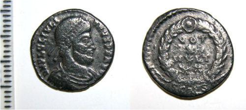 CAM-6594B0: Roman coin: Siliqua of Julian II