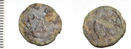 CAM-9CE6D2: Roman coin: Radiate of uncertain emperor