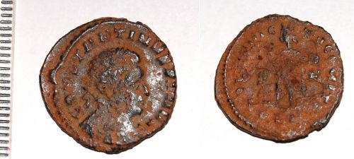 CAM-B5A7D6: Roman coin: Nummus of Constantine I