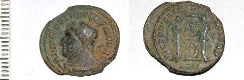CAM-B7C727: Roman coin: Nummus of the House of Constantine