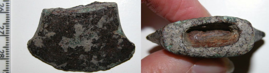 CAM-A25D41: Bronze Age socketed axehead