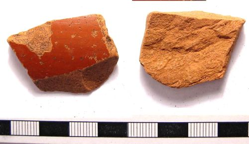 A resized image of Roman samian sherd