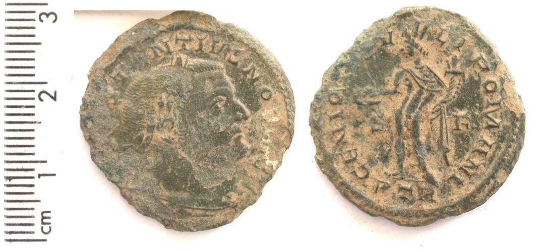 BERK-0D48A6: Roman coin : nummus of Constantius I